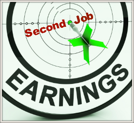 second job earnings potential